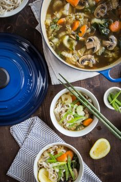 Asian Vegetable Noodle Soup by Jelly Toast
