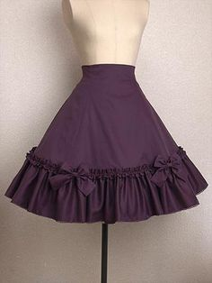 Mary Magdalene / Skirt / Lace Up Frill Skirt