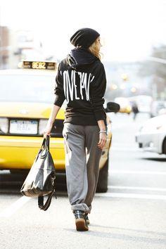 City style #VSPINK #NYCLove