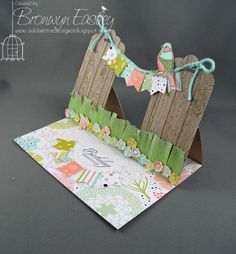 What a fun idea using the Tag Topper punch!