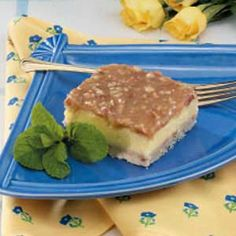 Cheesecake Praline Squares...one of my all-time favorites!