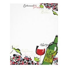 Wine inspirited invitations