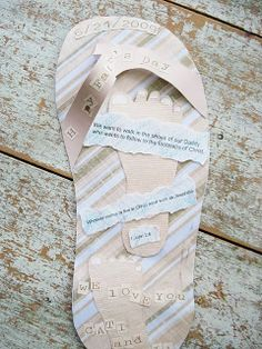 #FathersDay Flip Flop Card...PERFECT!