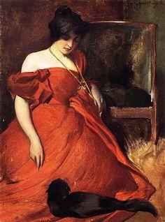 Alexander John White - Black and Red