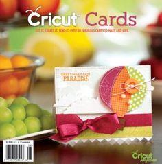 Cricut Cards Idea Book | Northridge Publishing cricut idea, card idea, northridg publish, happy colors, book pages, idea book, cricut card, cricut project, cards