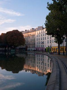 Canal Martin, Paris, France - Johnér photos