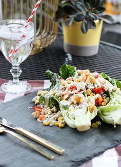 Veggie Wedgie Salad
