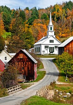 old buildings, country roads, usa travel, small towns, countri church, the road, new england churches, river, country churches