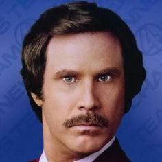 Ron Burgundy | Ron's Impeccable Hair [via paulmitchell.edu]