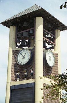 Glockenspiel Tower in New Ulm MN