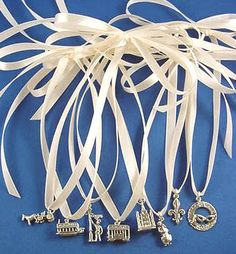 New Orleans Wedding Cake Charms | ... New Orleans Louisiana Wedding Cake Charms for your Wedding Charm Cake