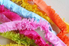 diy crepe paper fringe by lisa storms for fiskars