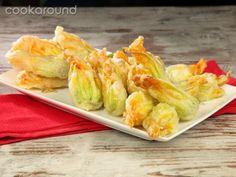 Fiori di zucca fritti | Cookaround