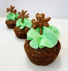 Mint Baileys Brownie Bites St. Patrick's Day food / desserts / food
