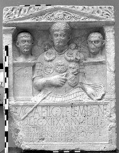 Funerary stele of M.Caelius, Xanten