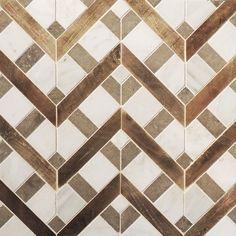 mixed materials GORGEOUS tiles!