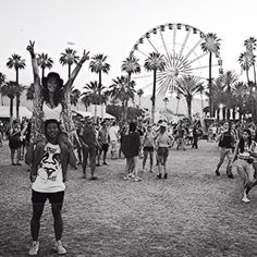 Greetings from Coachella.