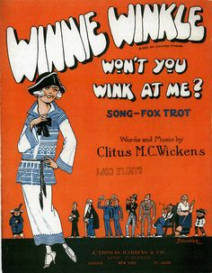 Winnie Winkle Not a paper doll, but it is Winnie.