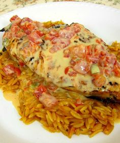 Queso Smothered Chicken - I wanted to lick the plate!