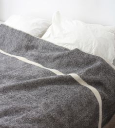 brookfarm general store - wool blanket
