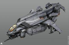 Killzone Shadow Fall - ISA Dropship