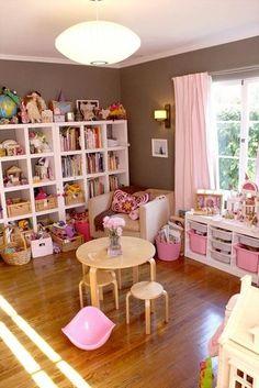 Girly playroom.