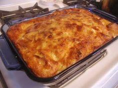 Panera Bread Restaurant Copycat Recipes: Asiago Bagel Breakfast Bake
