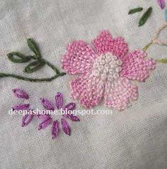 This and that...my random thoughts: Navar work / Kamal Kadai and Weaving stitch