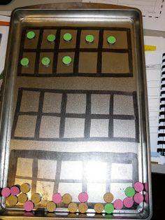 math, classroom, calendar time, idea, ten frames, night owl, number, kindergarten, magnet