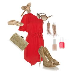 Day in the Sun, created by kaymeans06 on Polyvore
