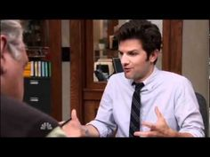 Parks and Rec: Game of Thrones reference.  Hilarious and true!