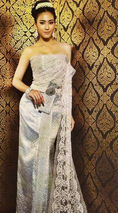Thai theme on pinterest thai wedding dress peacock dress and