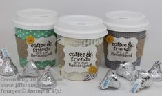 Stampin' Up! Mini Coffee Cups and Pattern