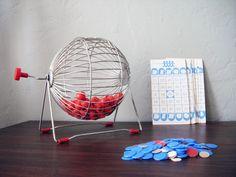 Bingo Game Set. via Etsy.