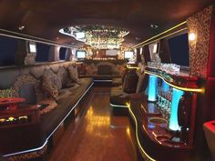 Ride in a limo