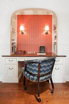 KMIDesign Closet Desk - home office - boston - Kate Maloney Interior Design