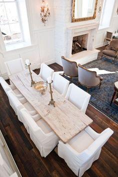 rustic living room