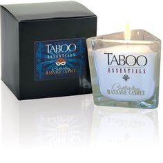 Taboo Essentials | Captivating Massage Candle Ambrosia $24.95