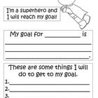 Use these superhero goal setting forms when you conference with your students.  Let your kiddos take ownership of their learning....