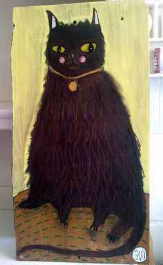 Fluffy Cat by Oswald Flump