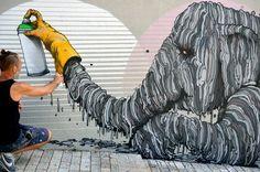 Street Art by Brusk