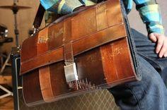 leather mac book pro case