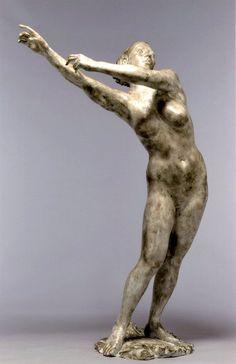 Figurative sculpture by Hironori Kawabata.