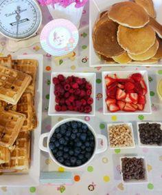 Waffle & Pancakes Breakfast Bar