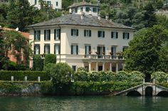 George Clooney's home on Lake Como, Italy