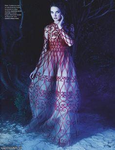 Supermodels.nl Industry News - Natalia Vodianova in 'La Couture Enchantée'... fashion, natalia vodianova, couture, nataliavodianova, la coutur, 141 march, numéro 141, march 2013, karl lagerfeld