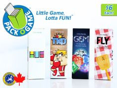 Pack O Game™ - TINY card games that are FUN to play ANYWHERE by Chris Handy — Kickstarter