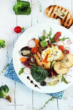 eggs, tomato, vinegar, summer salads, cooking tips, blood orange, radish, health foods, pear
