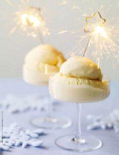 Sparkling dessert