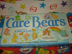 vtg 80s CARE BEARS board game PARKER BROTHERS #135 complete 1983 on the path